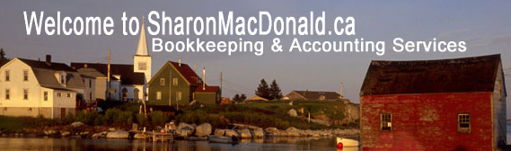 Sharon MacDonald Bookkeeping & Accounting Services - Banner